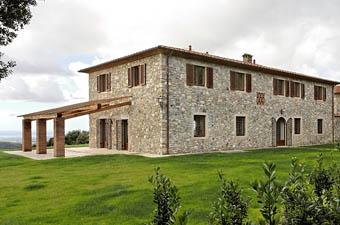 casa blu tuscany