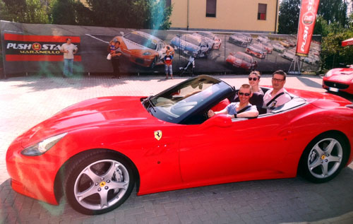 ferrari experience - live the dream