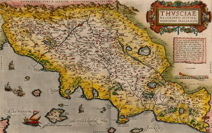 Map Of Tuscany Probably The Best Map Resources Available On Tuscany - Map tuscany