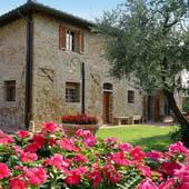 villa vista tuscany