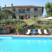 villa cortile tuscany