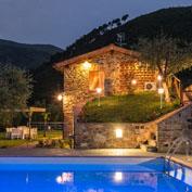 villa dante, tuscany