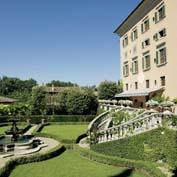 villa padronale, tuscany