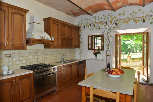 villa tevere tuscany