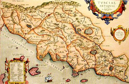 tuscany maps