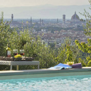 vista duomo tuscany