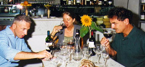 tuscany wine tasting