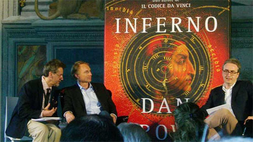 dan brown inferno tour